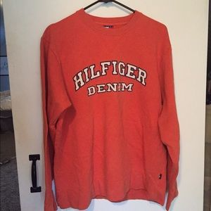 Vintage Tommy Hilfiger Denim Crewneck Sweatshirt